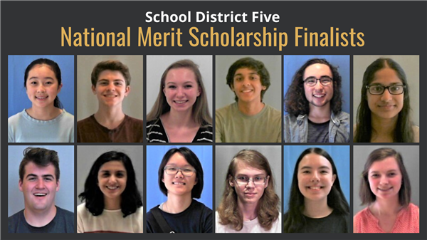 Twelve School District Five students named National Merit Scholarship finalists